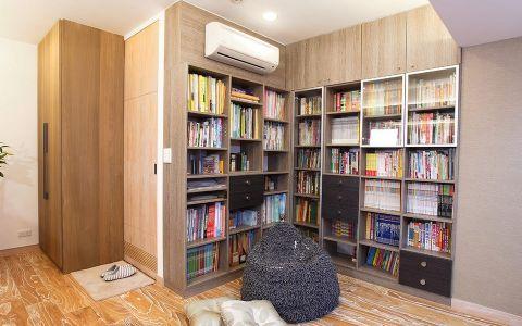 书房混搭风格效果图