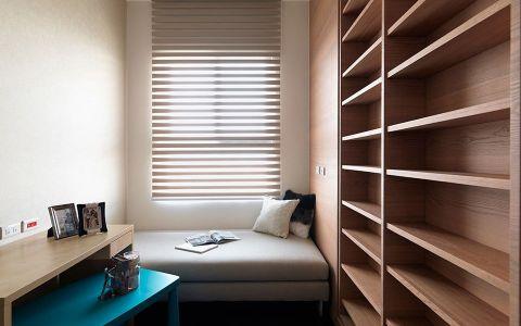 卧室博古架混搭风格装潢效果图