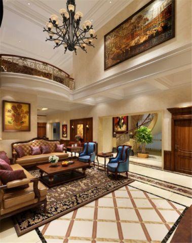 开平东苑别墅400平米新古典风格装修效果图