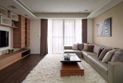 2020现代110平米装修图片 2020现代三居室装修设计图片