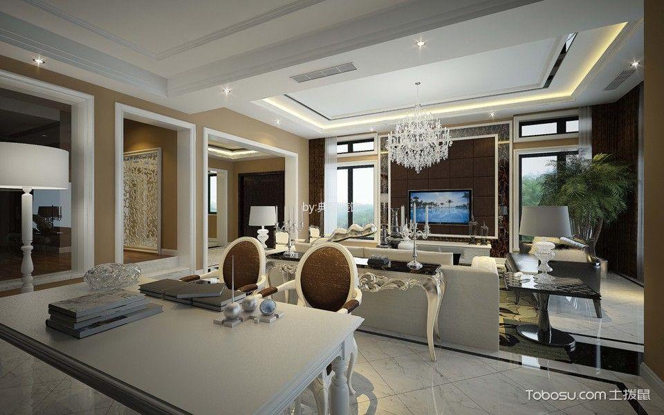 上海盛世天地别墅欧式风格装修效果图
