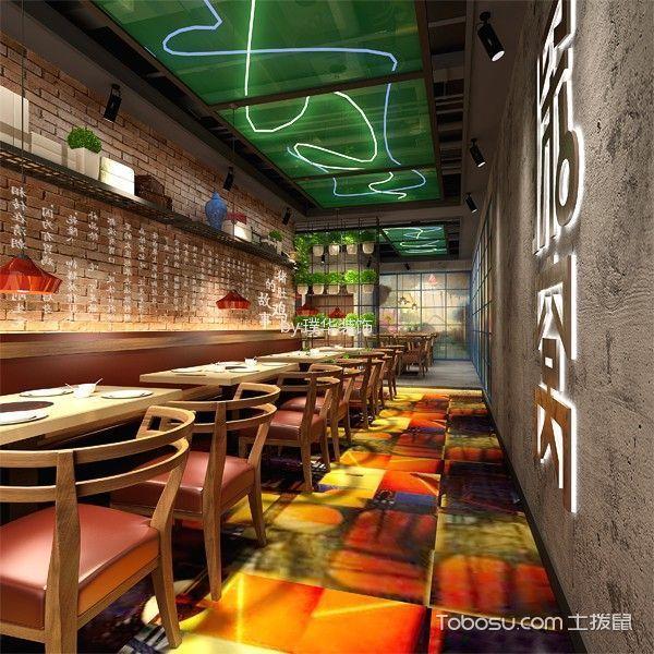 广州林和西探窝餐厅装修效果图