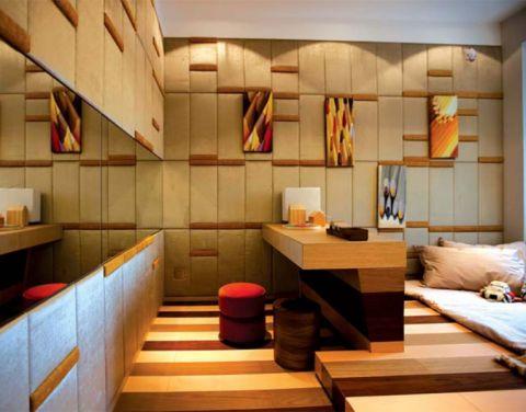 瑞景花园简约风格两室一厅装修效果图