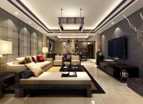 超英家园现代黑白系装修设计效果图