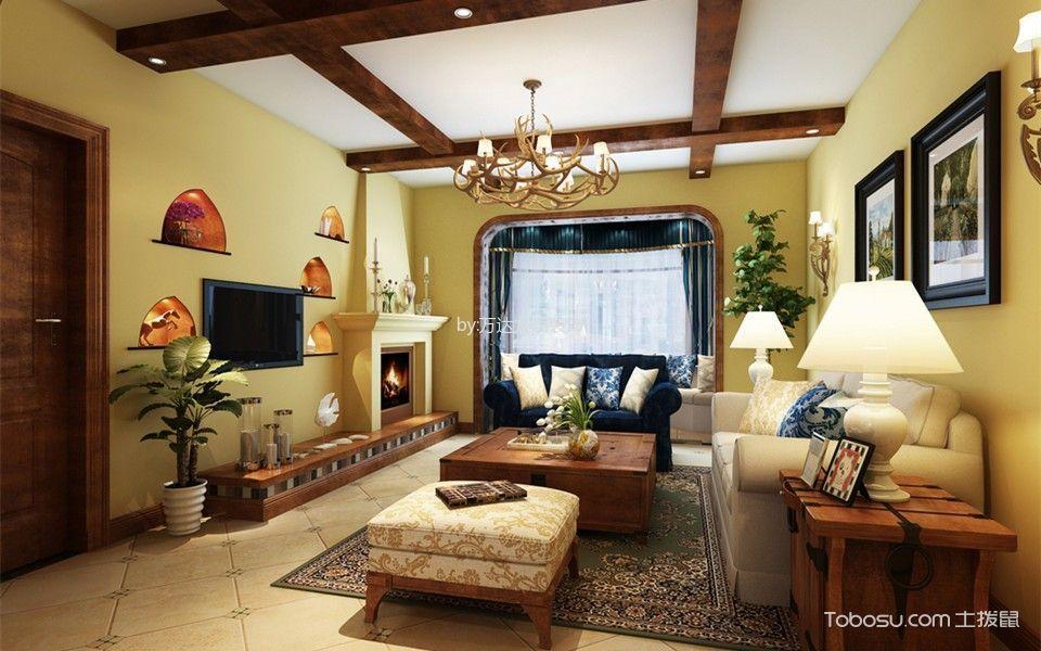 泛海国际竹海园160平米混搭风格四居室装修效果图
