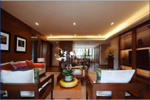 金都华庭150平四居室半包简中风格装修设计图
