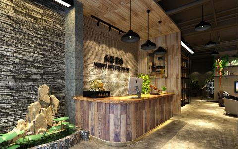 40万许昌300平商业空间loft风格装饰效果图