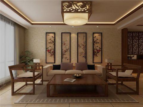 新中式设计更是在原来传统中式的风格上添加了一些时尚的现代元素,是现代风格与中式风格的完美融合。