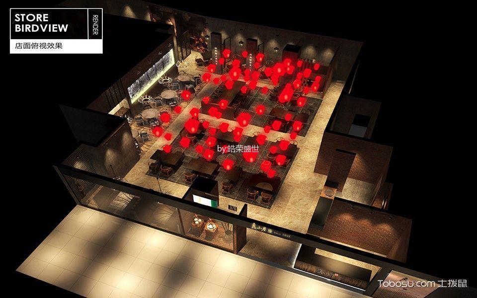 茶餐厅装饰效果图