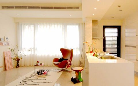 2020现代简约60平米装修效果图片 2020现代简约一居室装饰设计