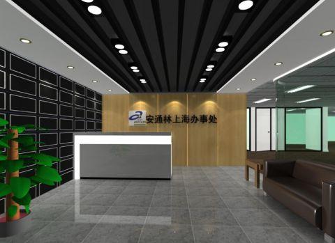 古北高档商务楼办公室设计效果图