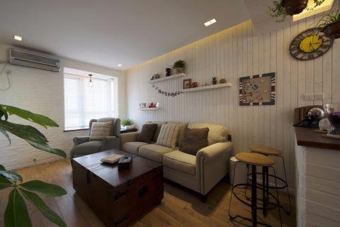 【8万】loft公寓地中海风格64平米装修效果图