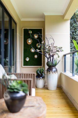 文艺卧室阳台设计图片