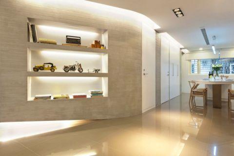 保利拉斐庄园260平米极简现代风格四居室装修效果图