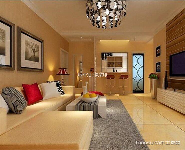 欧州城3室1厅现代简约装修效果图