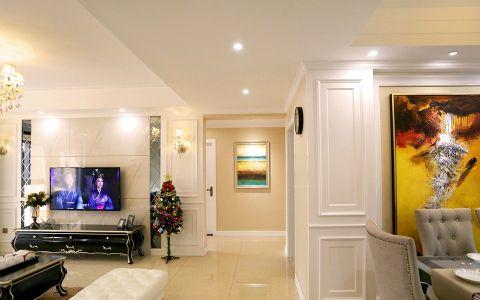 简约设计三居室装修效果图