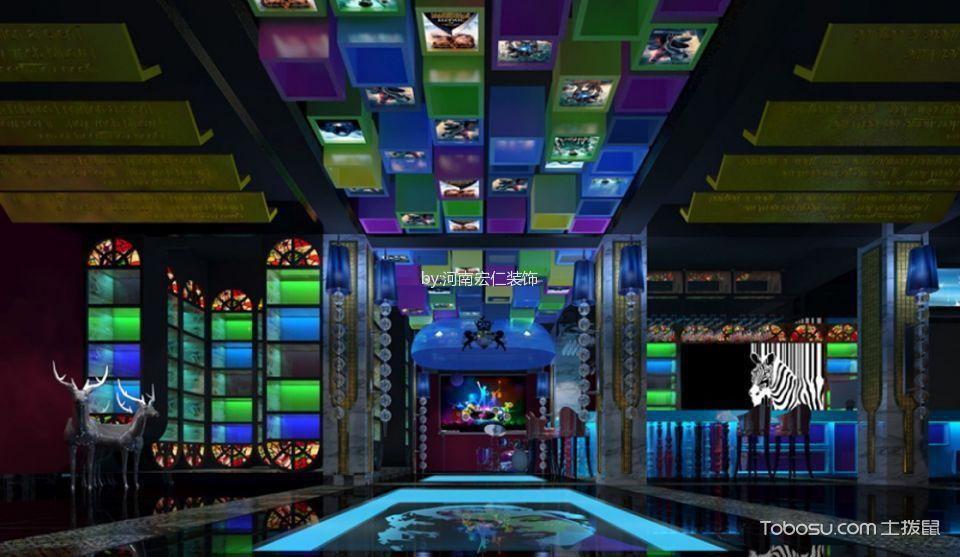 龙湖主题影咖装修设计大厅设计效果图