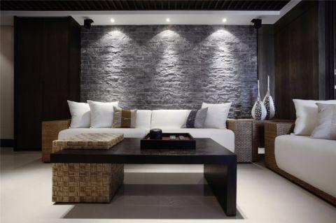 灰色简约派系风格,黑灰白搭配出气质十足的视觉美感,简单的家具,适合小户型的装修格局,空间明亮不局促,给人舒适安静的居家环境。
