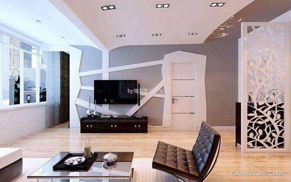 奥特莱斯50㎡两居室简约风格效果图