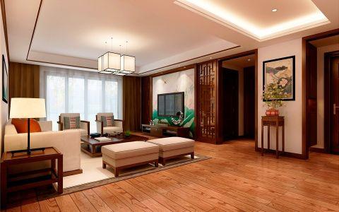 本案例是望湖城瑞和园小区,建筑面积180平方,色彩以深色沉稳为主。因中式家具色彩一般比较深,这样整个居室色彩才能协调。再配以红色或黄色的靠垫、坐垫就可烘托居室的氛围,这样也可以更好的表现古典家具的内涵。