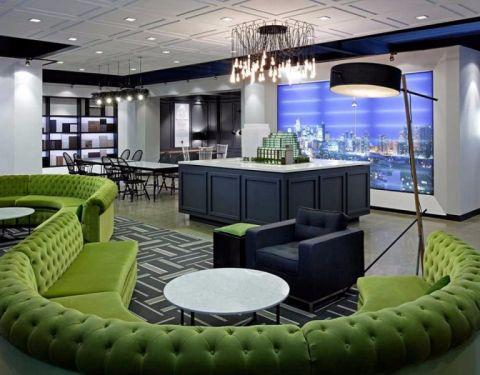观园公寓混搭风格设计装修效果图