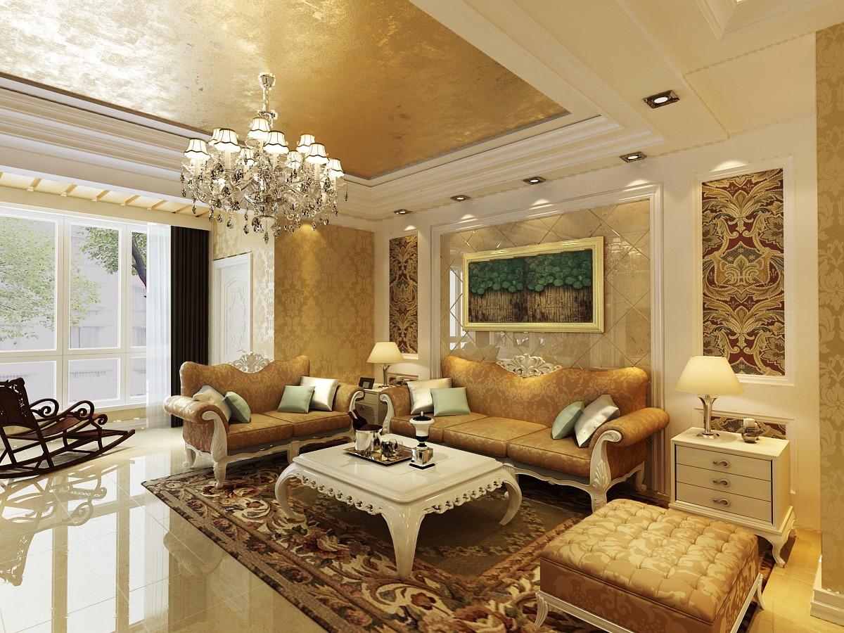 3室1卫2厅124平米简欧风格