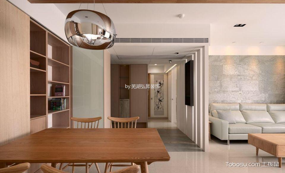 餐厅白色走廊北欧风格装修效果图