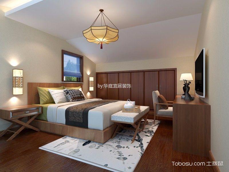 周庄宾馆卧室装饰图