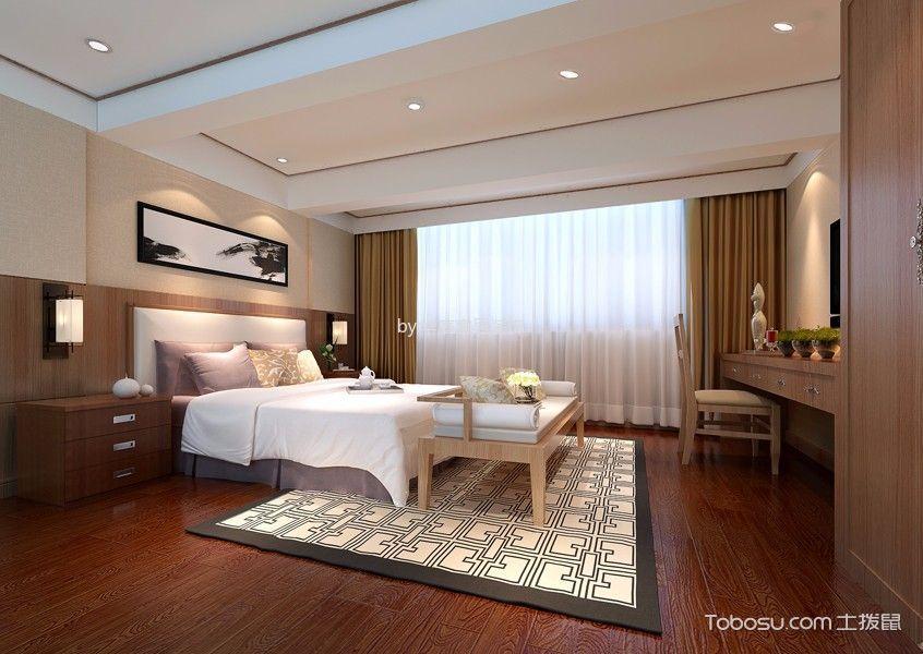 周庄宾馆卧室装饰实景图