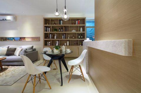 陌陌物88平三居室半包北欧装修设计图
