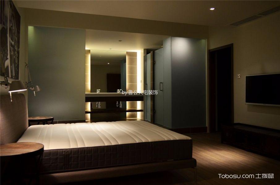 卧室 吊顶_中大长江紫都115平米现代简约风二居室装修效果图
