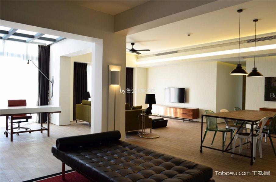 餐厅 吊顶_中大长江紫都115平米现代简约风二居室装修效果图