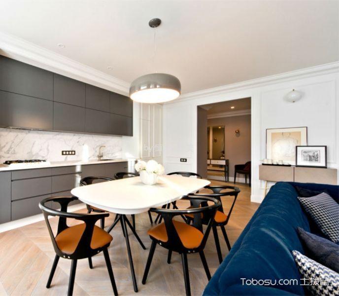 龙泉银诚东方国际 客厅现代简约风格装修实景图