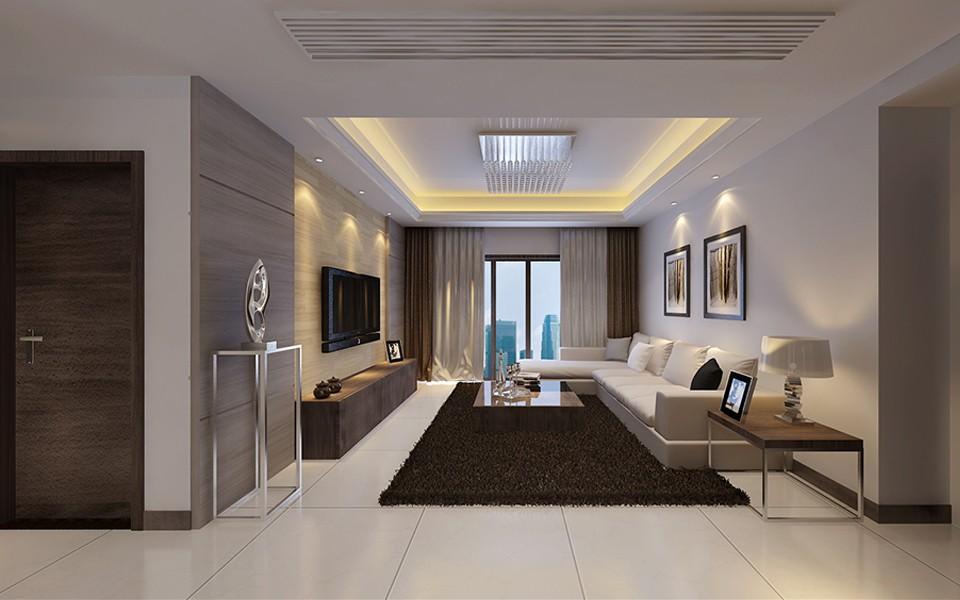 2室1卫2厅72平米现代简约风格