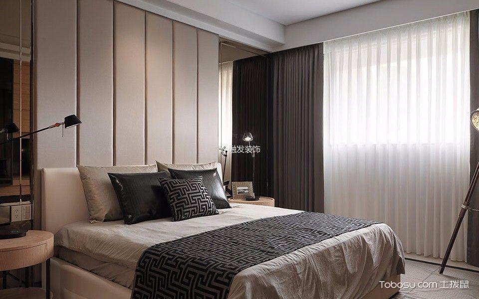餐厅咖啡色窗帘现代风格装修设计图片