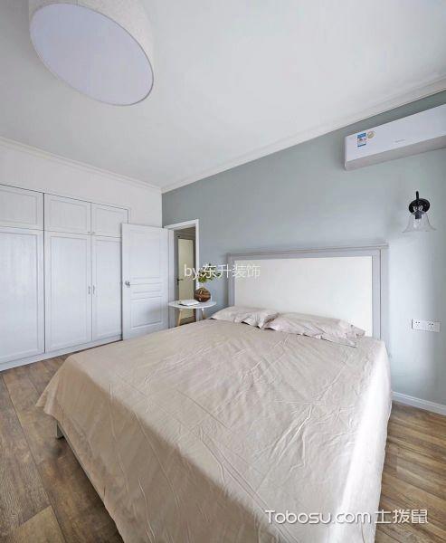 卧室白色衣柜北欧风格装饰图片