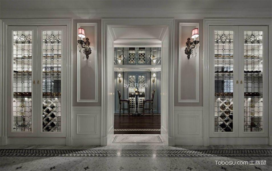 奢华法式风格会所装修设计案例