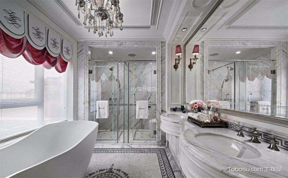 浴室装潢实景图