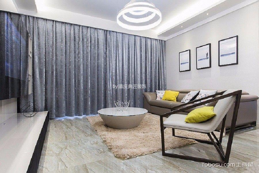 2020韩式150平米效果图 2020韩式三居室装修设计图片