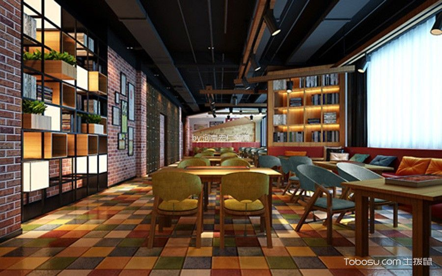 开封主题餐厅设计效果图