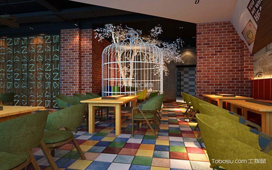 开封主题餐厅设计装修实景图