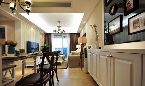 华生汉口城市广场90平半包两居室装修设计图