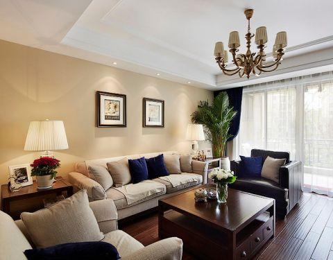 2020美式120平米装修效果图片 2020美式四居室装修图