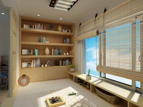 观澜御苑96平方日式风格两居室装修效果图