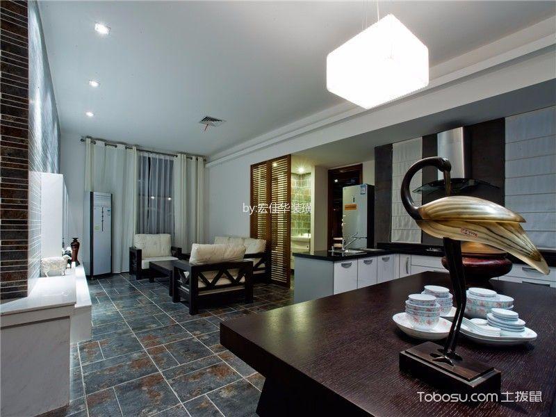 2020中式古典80平米设计图片 2020中式古典二居室装修设计