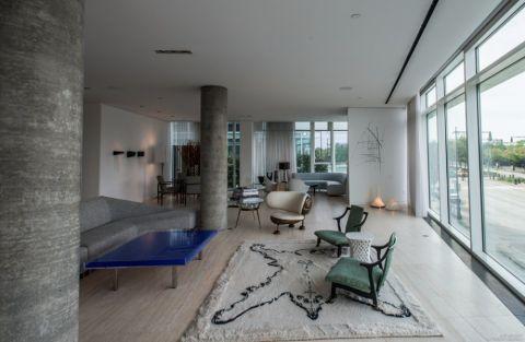 远洋风景现代风格三居室装修设计效果图