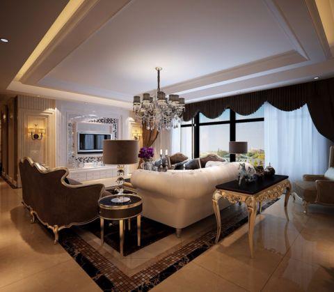 泰悦豪庭欧式风格设计装修设计效果图
