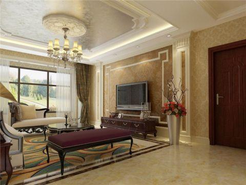 别墅300平米简欧风格装修效果图