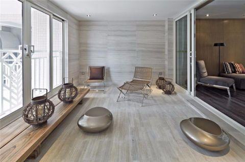 生活阳台白色家装设计