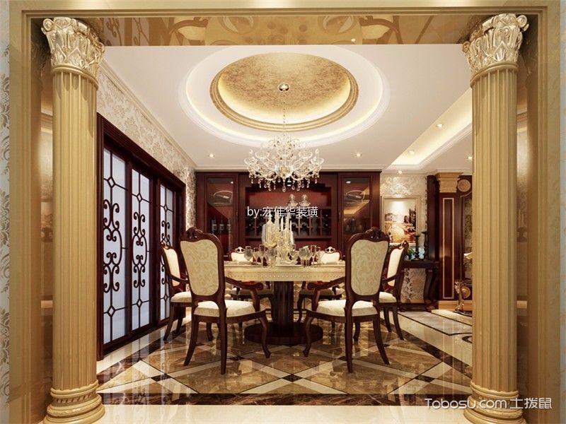 2021中式古典240平米装修图片 2021中式古典三居室装修设计图片